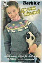 Beehive Great Ideas Knitting Designs for Children Pattern Book - $6.99
