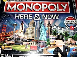 Monopoly Here & Now Board Game (Brand NEW) - $24.95