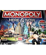 Monopoly Here & Now Board Game (Brand NEW) - $28.90