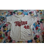 Minnesota Twins Authentic Jersey Sz 54 Russell Athletic - $98.99