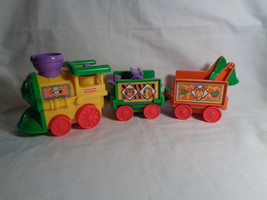 Fisher Price Little People 3 Car Replacement Safari Train Sounds & Music - $10.15