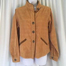 Women's Bit & Bridle Corduroy Jacket Size Small Button Front 100% Cotton - $24.75