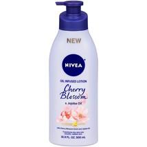 Nivea Oil Infused Body Lotion Cherry Blossom & Jojoba Oil - 16.9 Oz - $14.84