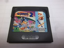 "Sega Game Gear ""Sonic The HedgeHog 2"" Game Cartridge - With Case - 1993 ... - $12.60"