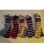 Chatties Juniors Womens 3 Pack Striped Knee Socks 1 Pack  NIP  - $13.99