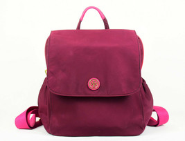 Tory Burch Travel Convertible Nylon Backpack Cabernet (Retail $395) - $167.31