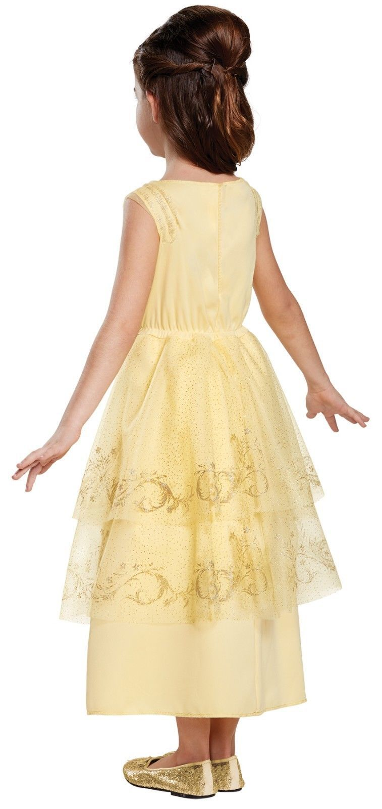 Toddler 3T-4T Classic Belle Gown from New Beauty & the Beast Movie