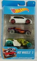 Hot Wheels 3 by Mattel 3 Pack Die Cast Cars - $4.94