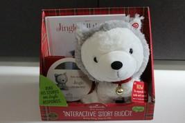 Hallmark Jingle All The Way Interactive Story Husky Dog Puppy w/ Book & ... - $24.99