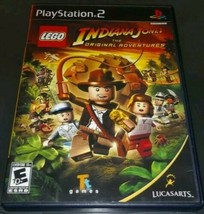 LEGO Indiana Jones: The Original Adventures (Sony PlayStation 2, 2008) W/Manual - $6.92