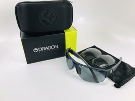 New DRAGON Matte Navy  ENDUROX3 Sunglasses with Grey & Clear Lenses - $94.00