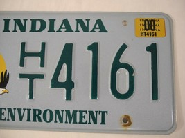 Indiana Environment License Plate Bald Eagle Specialty 1999 2000 image 2