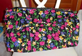 Vera bradley Large duffel bag in Wildflower Garden pattern - $62.00
