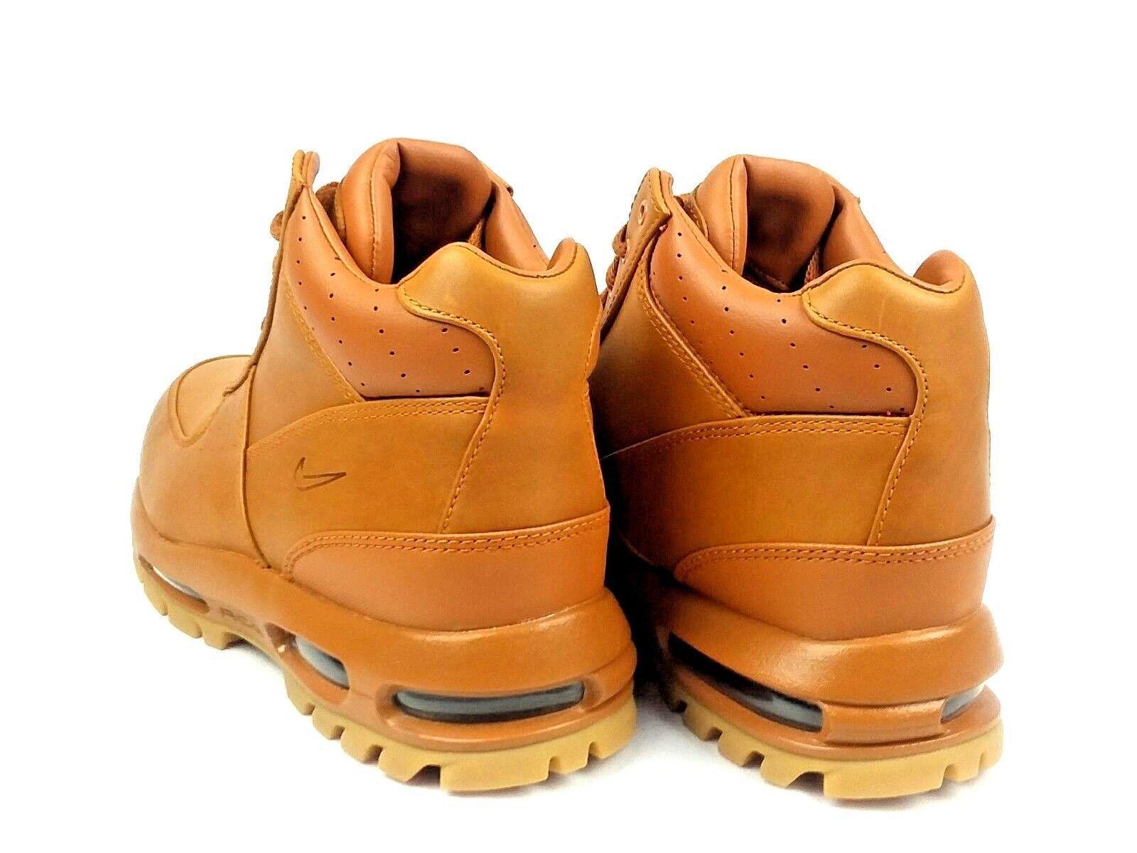 d7d80bf458f111 Nike Air Max Goadome Boots Tawny Gum Light Brown ACG 865031 208 Mens Size  7.5
