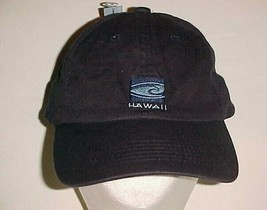 Hawaii USA Adult Unisex Surfing Surf Surfer Black Cap One Size New - $19.79