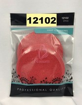 "2 pcs. BLOSSOM DEEP CLEANSING SPONGE #12102 DIAMETER 3"" FACIAL CLEANSING... - $1.97"