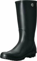 UGG Women's Shelby Matte Waterproof Tall Rain Boot, Black Size 10 BG1098249 - $67.99