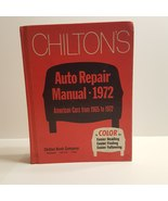 CHILTON'S Auto Repair Manual for American Cars 1965-1972 Vintage 1462 pages - $15.00