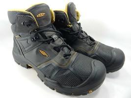 Keen Logandale Size 13 2E WIDE EU 47 Men's WP Steel Toe Work Boots 1017828EE