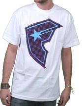 Famous Stars & Straps Weiß/Violett Kariert It Checker Boh Orden Von Ehre T-Shirt