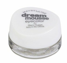 Maybelline Dream Mousse Eyecolor 01 Ivory in the Clouds - $6.99