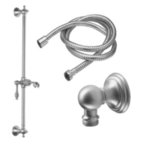 California Faucets 9129-42-SN Traditional Slide Bar Handshower Kit Satin Nickel - $316.75