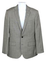 J Crew Mens Ludlow Suit Jacket Sport Coat Italian Stretch Worsted Wool 36R G1109 - $110.39