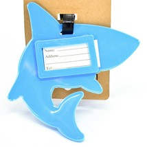 Great White Shark Rubber Baggage Luggage Traveling Tag image 2