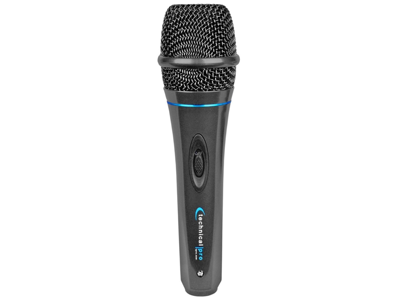 Technical Pro Wired Microphone with Digital Processing(MK75)10ft. cable included
