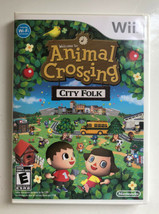 Animal Crossing: City Folk With Manual (Nintendo Wii, 2008) Tested Free Shipping - $32.66