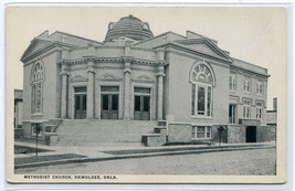 Methodist Church Okmulgee Oklahoma 1920s postcard - $7.00