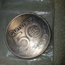 Cummins Engine Company 50 Years Token, Medal 1919-1969 MIP - $74.79