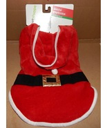 Christmas Dog Costume Santa Claus Med To Large 20 To 35 Lbs 150U - $8.49