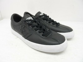 Converse Women's Low-Cut Breakpoint Ox Casual Shoes Black Leather Size 7M - $37.99