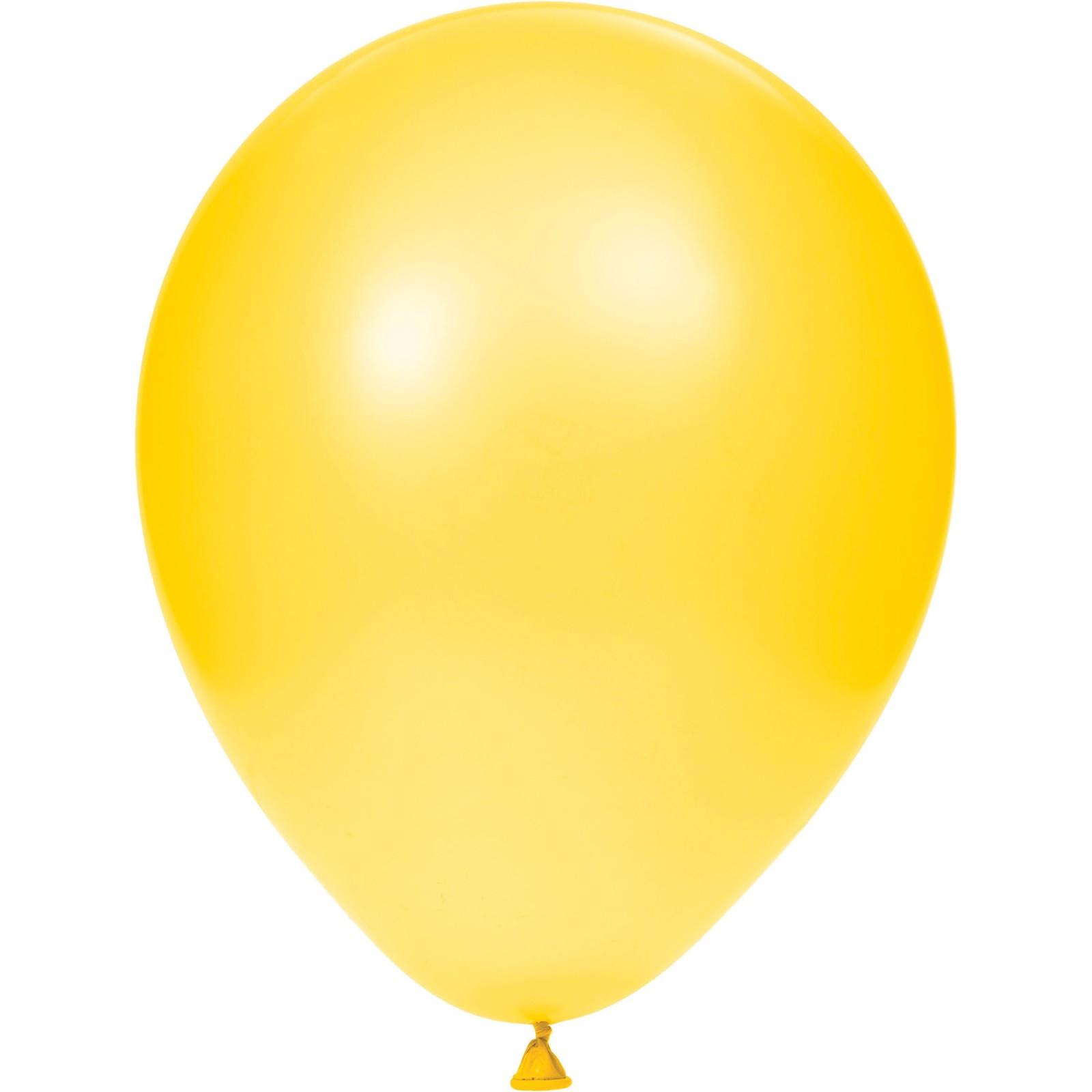 "School Bus Yellow 12"" Latex Balloons 12""/Case of 180"
