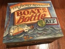 The Secret Revealed Boat In A Bottle Kit - $9.49