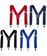 Suspenders for Boys Child Kids Adjustable - Elastic Y Shape Soild Color ... - $15.78