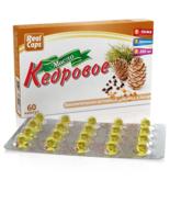 Cedar Oil 60 Caps Vitamins Siberia Best Quality Natural Cold Pressed Oil - $9.50+