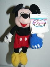 "Disney Store Dreidel Mickey '99 Bean Bag 7"" - $5.17"