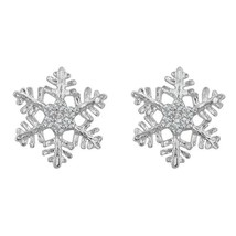 Snowflake Stud Earrings - $19.00