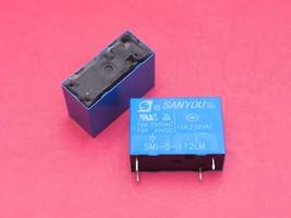 SMI-S-112LM, 12VDC Relay, SANYOU Brand New!! - $5.98