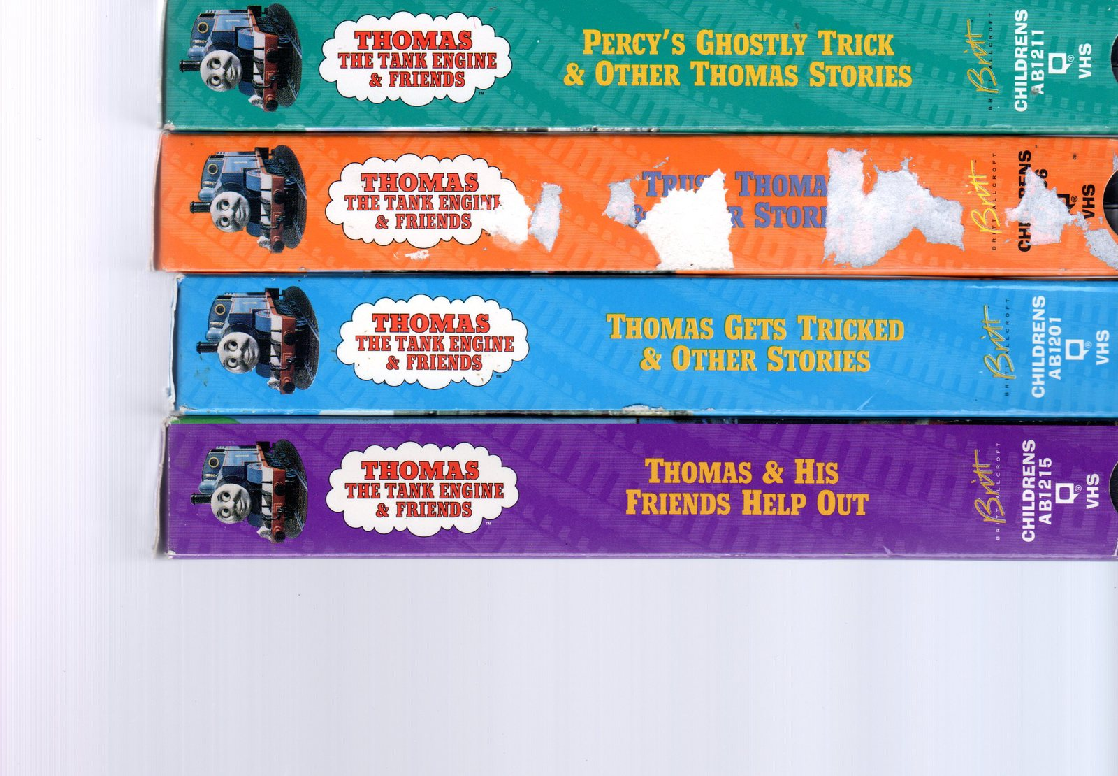 Primary image for Thomas  The Tank Engine & Friends -4  VHS Movies