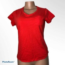 Outdoor Research V-Neck Poppy Short Sleeve Tee Shirt Pocket Size Medium - $16.39