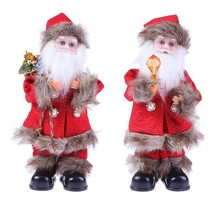 Electric Santa Claus Dancing Singing Christmas Home Decorations Musical ... - €16,85 EUR