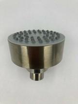 """Rotunda 3-1/8"""" Round Light Weight Shower Head Brushed Nickel, Shower Hea... - $16.82"""