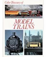 1972/ COLOR TREASURY OF MODEL TRAINS / Crescent Books/ 110 Color Photos - $10.00