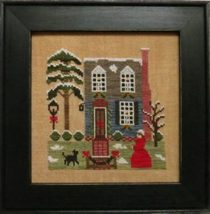 Christmas In The Colonies III holiday cross stitch chart Stitches Through Time  - $10.80