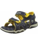 Kids Little Kids Timberland Adventure Seeker Sandal - Navy/Yellow, Size 1US - $54.99