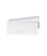 NEW Quality Park #10 Left Window Envelopes Gummed Flap 90120 500/Box White - $23.65