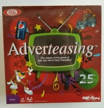 Adverteasing The Classic Trivia Game of Ads IDEAL 2011 25th Anniversary Edition - $34.53